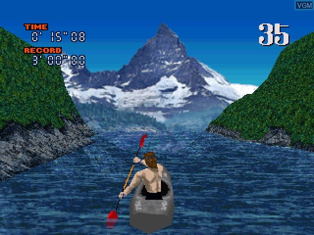 In-game screen of the game Wild Boater on Sony Playstation