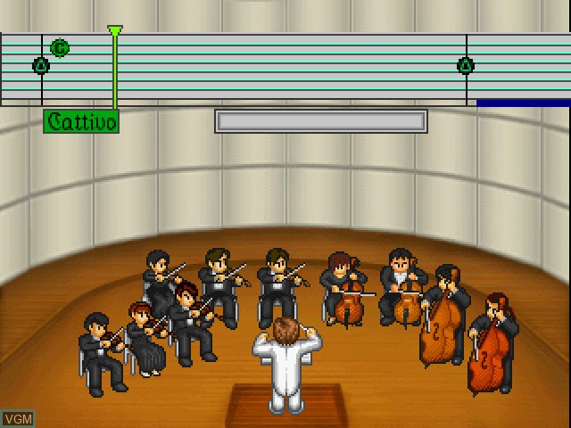 In-game screen of the game Le Concert - ff - Fortissimo on Sony Playstation