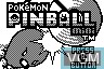 Title screen of the game Pokemon Pinball Mini on Nintendo Pokemon Mini