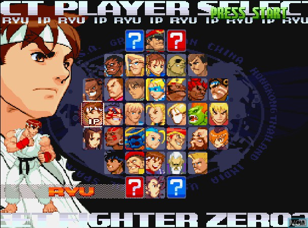 street fighter zero 3 sega saturn