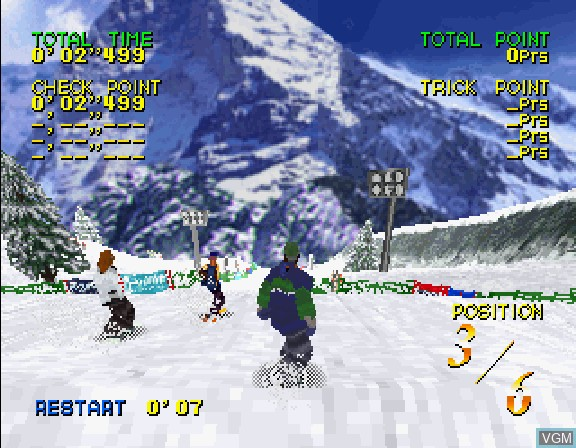 Zap! Snowboarding Trix '98