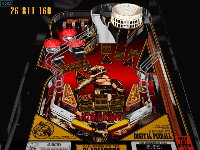 Last Gladiators - Digital Pinball