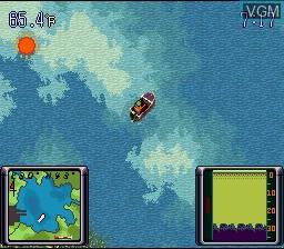 Menu screen of the game Bassin's Black Bass on Nintendo Super NES