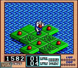 Menu screen of the game Bombuzal on Nintendo Super NES
