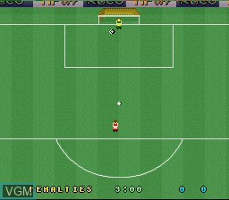 Menu screen of the game Kevin Keegan's Player Manager on Nintendo Super NES