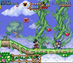 Magical Quest Starring Mickey Mouse, The for Nintendo Super