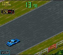 In-game screen of the game Zennihon GT Senshuken on Nintendo Super NES