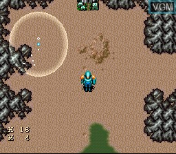 In-game screen of the game 7th Saga, The on Nintendo Super NES