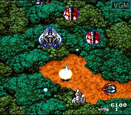 In-game screen of the game Acrobat Mission on Nintendo Super NES