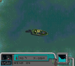 In-game screen of the game BASS Masters Classic - Pro Edition on Nintendo Super NES