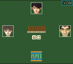 In-game screen of the game Mahjong Club on Nintendo Super NES