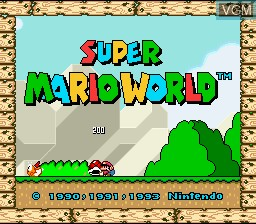 Super Mario All-Stars + Super Mario World for Nintendo Super
