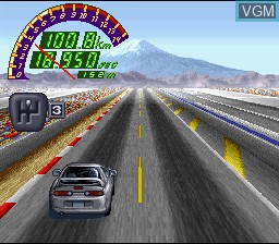 In-game screen of the game Zero 4 Champ RR-Z on Nintendo Super NES