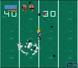 In-game screen of the game Zombies Ate My Neighbors on Nintendo Super NES