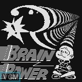 Title screen of the game Brain Power on Watara Supervision