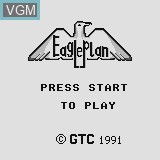 Title screen of the game Eagle Plan on Watara Supervision