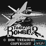 Title screen of the game Jaguar Bomber on Watara Supervision