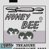 Title screen of the game Honey Bee on Watara Supervision