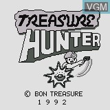 Title screen of the game Treasure Hunter on Watara Supervision