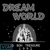 Title screen of the game Dream World on Watara Supervision