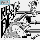 Title screen of the game Recycle Design on Watara Supervision