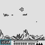 Menu screen of the game Alien on Watara Supervision