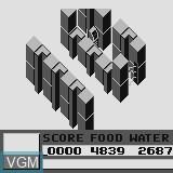 Menu screen of the game Chimera on Watara Supervision