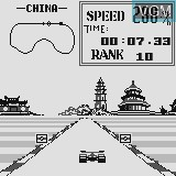 Menu screen of the game Grand Prix on Watara Supervision