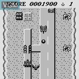 Menu screen of the game Jaguar Bomber on Watara Supervision