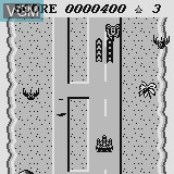 In-game screen of the game Jaguar Bomber on Watara Supervision