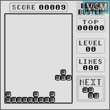 In-game screen of the game Block Buster on Watara Supervision