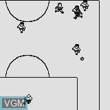 In-game screen of the game Soccer Champion on Watara Supervision