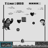 In-game screen of the game Super Kong on Watara Supervision