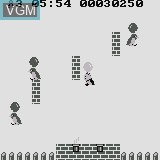 In-game screen of the game Balloon Fight on Watara Supervision