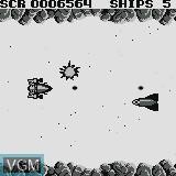 In-game screen of the game Matta Blatta on Watara Supervision