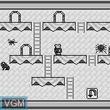 In-game screen of the game Kitchen War on Watara Supervision