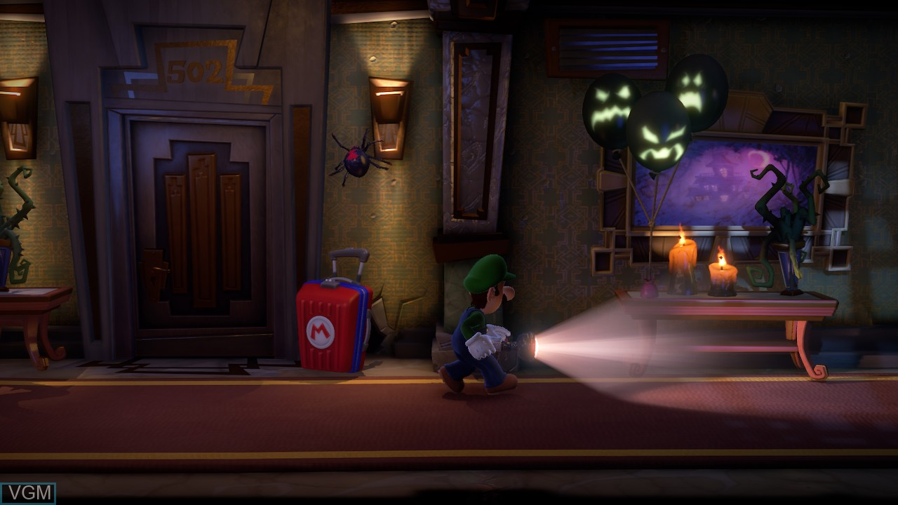 In-game screen of the game Luigi's Mansion 3 on Switch
