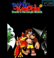 Title screen of the game Banjo-Kazooie - Grunty's Revenge Mobile on Mobile phone