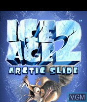 Title screen of the game Ice Age 2 - Arctic Slide on Mobile phone