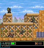 In-game screen of the game Metal Slug Mobile on Mobile phone