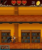 In-game screen of the game Legend of Zorro, The on Mobile phone
