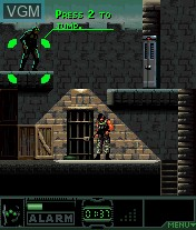 In-game screen of the game Splinter Cell - Pandora Tomorrow on Mobile phone