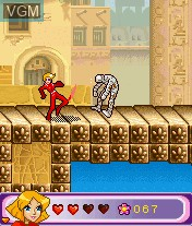 In-game screen of the game Totally Spies! - The Mobile Game on Mobile phone