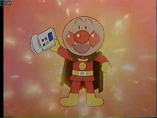 Menu screen of the game Anpanman OAV 2 on Bandai Terebikko
