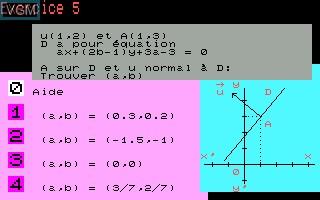 Equations de droites