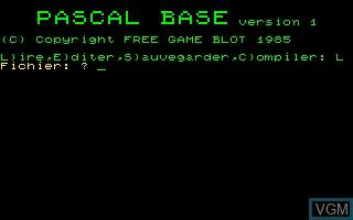Pascal Base