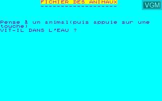 Fichier des Animaux, Le