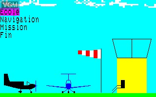 Menu screen of the game Compilation - Kidkit on Thomson TO8