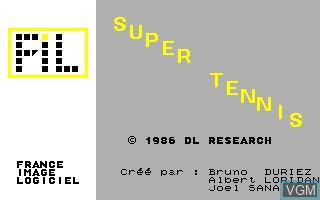 In-game screen of the game Compilation Disk - Jeux TO9 on Thomson TO8
