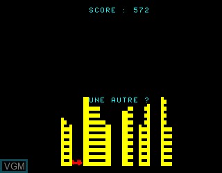 Title screen of the game Blitz on Philips VG5000